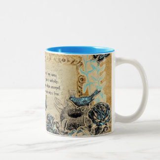 Tribute to Shelley Two-Tone Mug