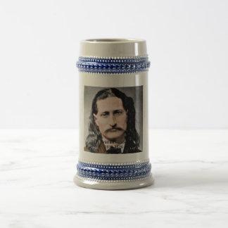 Tribute to Wild Bill Hickok Beer Stein