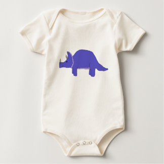 Triceratops apparel baby bodysuit