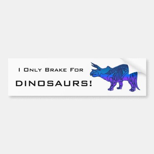 Triceratops Bumper Sticker