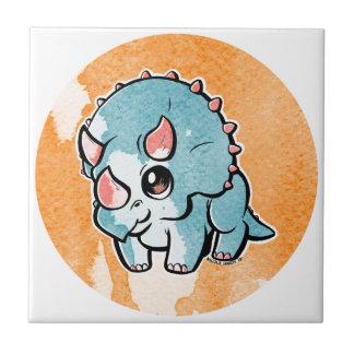 triceratops_CL.jpg Ceramic Tile