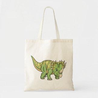 Triceratops Dinosaur  Bug Tote Bag