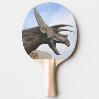 Triceratops Dinosaur Ping Pong Paddle
