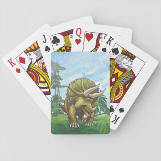 Triceratops Gifts & Accessories Playing Cards