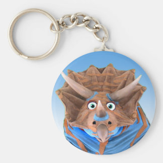 Triceratops Key Chain