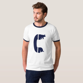Triceratops Pay Phone T-Shirt