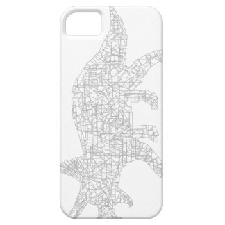 Triceratops phone case by MuffinChops
