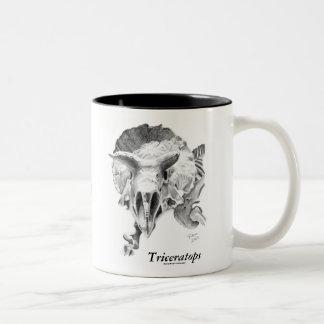 Triceratops vs. T. rex Coffee Mug
