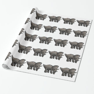 Triceratops! Wrapping Paper