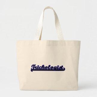 Trichologist Classic Job Design Jumbo Tote Bag