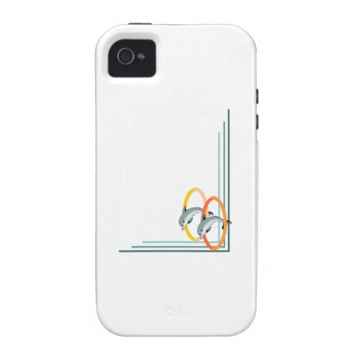 Trick Dolphins iPhone 4/4S Covers