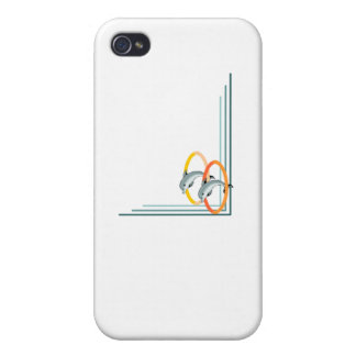 Trick Dolphins iPhone 4 Case