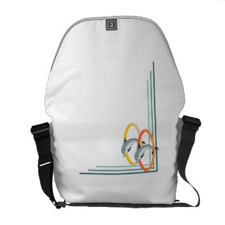 Trick Dolphins Courier Bags