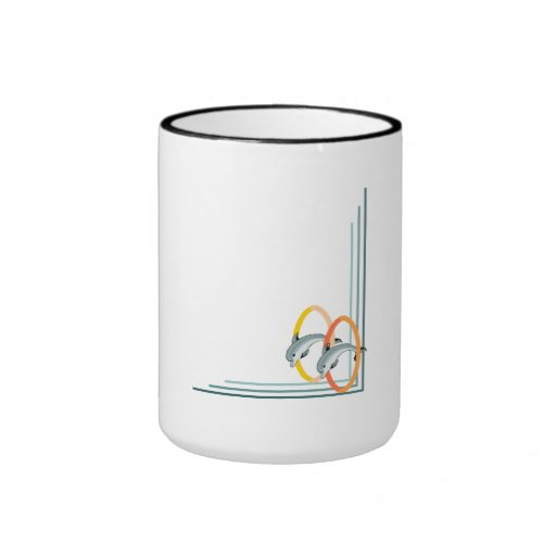 Trick Dolphins Mugs