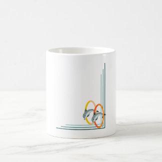Trick Dolphins Coffee Mug