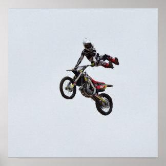 Trick Motocross Poster