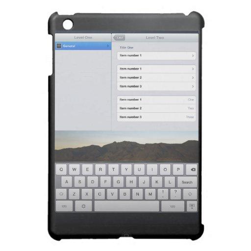 trick of the  iPad mini covers