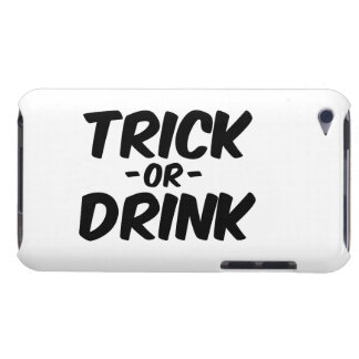 Trick or Drink Funny Halloween iPod Touch Covers