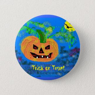 Trick or Treat 6 Cm Round Badge