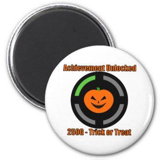 Trick or Treat - Achievement Unlocked 6 Cm Round Magnet