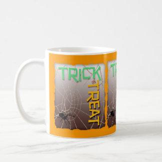 Trick or Treat Basic White Mug