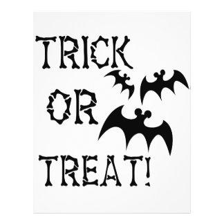 Trick or Treat Bats! 21.5 Cm X 28 Cm Flyer