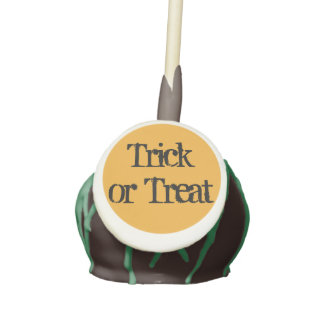 Trick or Treat Cake Pops by RoseWrites