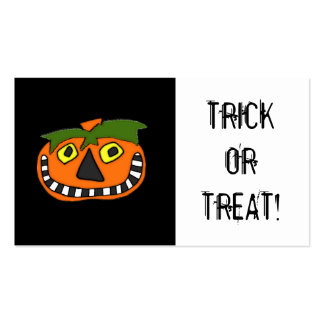 Trick or Treat Candy Bag Halloween Coupon Pack Of Standard Business Cards