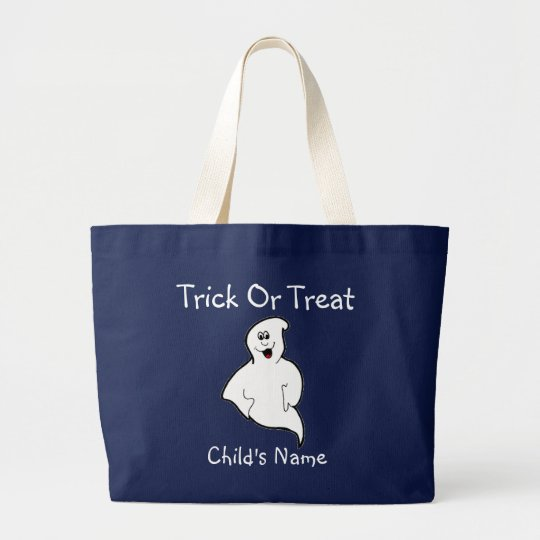 Trick or Treat Candy Bag Personalised Template