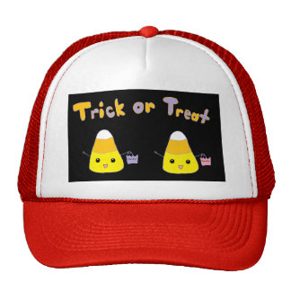 Trick or Treat Candy Corn Trucker Hats