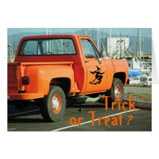 Trick or Treat ? Card