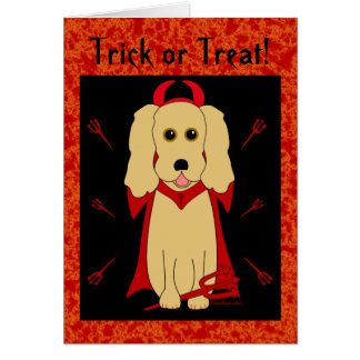 Trick or Treat! Card