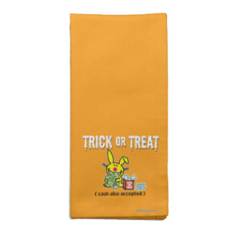 Trick or Treat (cash also accepted) Napkin
