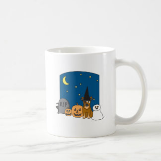 Trick or Treat Cattle Dog Halloween Coffee Mug