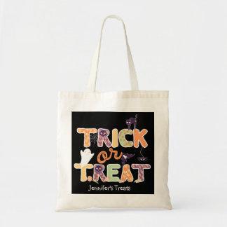Trick or treat Cute Ghost Halloween Tote Bag