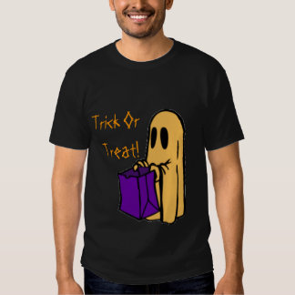Trick Or Treat Cute Ghost T-shirts