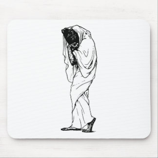 Trick or Treat Demon Occult Mouse Pad