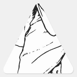 Trick or Treat Demon Occult Triangle Sticker