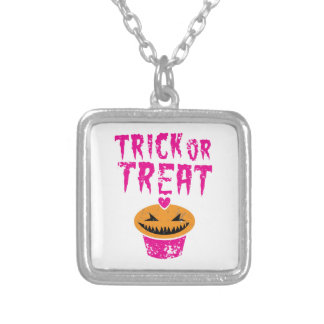 Trick or Treat distressed version with cupcake Pendants