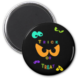 Trick Or Treat Eyes Fridge Magnet