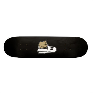 Trick or Treat Ghost Skateboard