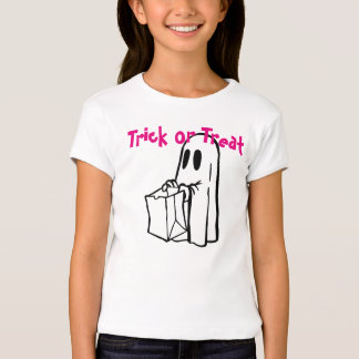 Trick or Treat Ghost Tee Shirts