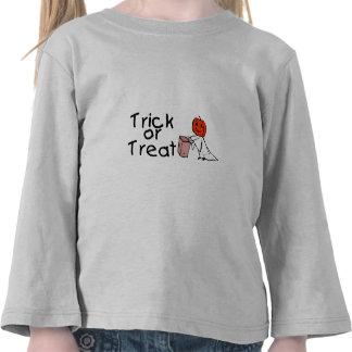 Trick or Treat Ghost Tshirt