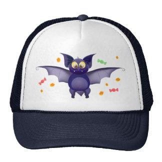 Trick or treat! halloween baby bat candy corn cap