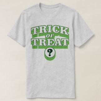 Trick Or Treat Halloween Costume Slogan T-Shirt