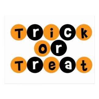 Trick or Treat Halloween Fun Postcards