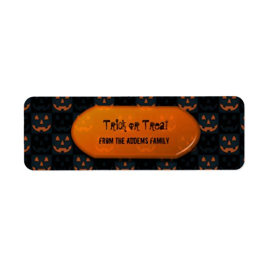 Trick or Treat  Halloween Gift Bag