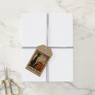 Trick-Or-Treat Halloween Gift Tag #1