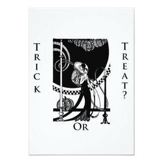 Trick or Treat? Halloween Invite