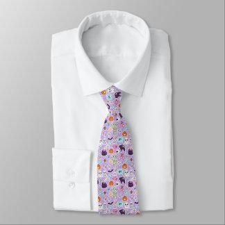 Trick Or Treat Halloween Pattern Tie